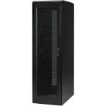 S-Series Seismic Enclosure - 19 inch 42U Wide for Server LAN Switch PDU - Black Black