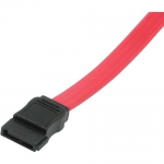 36in 7-pin 180 1-Device Serial ATA Cable - Female SATA - Female SATA - 36 inch - Red