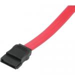 36in 7-pin 180 1-Device Serial ATA Cable - Female SATA - Female SATA - 36 inch - Red