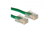 Cat5e Non-Booted Unshielded (UTP) Network Patch Cable - Patch cable - RJ-45 (M) to RJ-45 (M) - 75 ft - UTP - CAT 5e - stranded - green