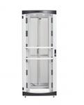 RS Enclosure Colocation - Rack - cabinet - white black trim - 48U