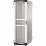 RS Enclosure Server - Rack - cabinet - white black trim - 48U