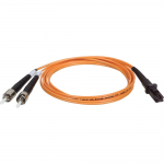 2M Duplex Multimode 62.5/125 Fiber Optic Patch Cable MTRJ/ST 6 6ft 2 Meter - Patch cable - ST multi-mode (M) to MT-RJ multi-mode (M) - 1.8 m - fiber optic - 62.5 / 125 micron - orange