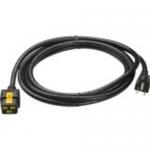 Power cable - NEMA 5-15 (M) to IEC 60320 C19 - AC 120 V - 15 A - 10 ft - black - for P/N: SU2200R3BX120 SUA1000XL SUA3000