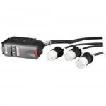IT Power Distribution Module - Automatic circuit breaker (plug-in module) - AC 208 V - 3-phase - output connectors: 3 - for P/N: SY40K100F-NB SY50K100F-NB SY60K100F-NB SY70K100F-NB SY80K100F-NB SY90K100F-NB