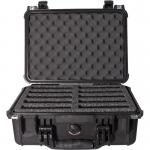 WiebeTech Protective Hard Drive Case - Internal Dimensions: 14.62 inch Length x 10.18 inch Width x 6 inch Depth - 10 x Hard Drive - 3.89 gal - External Dimensions: 16 inch Length x 13 inch Width x 6.9 inch Depth - Hard Drive