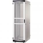 RS Enclosure Server - Rack - cabinet - white black trim - 45U