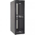 RS Enclosure Server - Rack - cabinet - black black trim - 48U