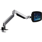 SECURE SPACE ENCLOSURE WITH REACH ARTICULATING ARM KIOSK BLACK FOR IPAD 2/3/4/A