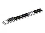 ePDU G3 Metered Input - Power distribution unit (rack-mountable) - AC 200-240 V - 3-phase - Ethernet 10/100 RS-232 - input: hardwire - output connectors: 60 (IEC 60320 C13 IEC 60320 C19) - 0U - black