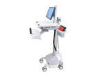 STYLEVIEW CART WITH LCD PIVOTSLA POWERED.ERGONOMIC AND EASY-TO-MANEUVE