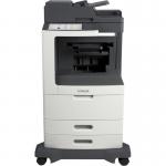 MX810DXFE Laser Multifunction Printer - Monochrome - Plain Paper Print - Desktop - Copier/Fax/Printer/Scanner - 55 ppm Mono Print - 1200 x 1200 dpi Print - 55 cpm Mono Copy - Touchscreen - 600 dpi Optical Scan - Automatic Duplex Print - 2750 sheet