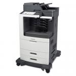 MX811DME Laser Multifunction Printer - Monochrome - Plain Paper Print - Desktop - Copier/Fax/Printer/Scanner - 63 ppm Mono Print - 1200 x 1200 dpi Print - 63 cpm Mono Copy - Touchscreen - 600 dpi Optical Scan - Automatic Duplex Print - 1200 sheets