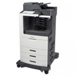 MX811DTME Laser Multifunction Printer - Monochrome - Plain Paper Print - Desktop - Copier/Fax/Printer/Scanner - 63 ppm Mono Print - 1200 x 1200 dpi Print - 63 cpm Mono Copy - Touchscreen - 600 dpi Optical Scan - Automatic Duplex Print - 1750 sheet