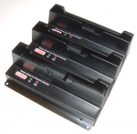 3 - BAY BATTERY CHARGER FOR CF-T4/T5. BATTERIES WILL CHARGE SIMULTANEOUSLY. 120