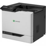 CS820de - Printer - color - Duplex - laser - A4/Legal - 1200 x 1200 dpi - up to 57 ppm (mono) / up to 57 ppm (color) - capacity: 650 sheets - USB 2.0 Gigabit LAN USB 2.0 host