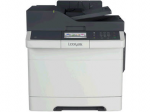 THE NETWORK-READY LEXMARK CX410DE MFP WITH A COLOR TOUCH SCREEN AND A PRINT SPEE