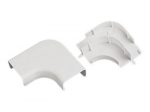 Multi-Channel Fitting - Cable raceway right angle fitting - white