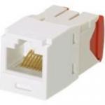 MINI-COM TX-5e - Modular insert - arctic white - 1 port