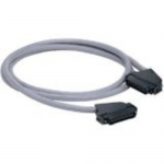 Data-Patch 10/100/1000BASE-T Cable Assembly - Patch cable - RJ-21 (M) left-angled to RJ-21 (M) left-angled - 10 ft - UTP - CAT 5e - gray