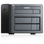 Pegasus2 R2+ - Hard drive array - 6 TB - 2 bays - HDD 3 TB x 2 - USB 3.0 Thunderbolt 2 (external) - with CF/SD Reader Pod