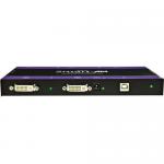 DUAL DVI-D + USB OVER CAT6 STP TRANSMITTER. INCLUDES: DVX-2U-TX AND PS5VD4A-WLLM