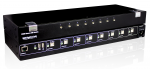 8 PORT HIGH SECURITY KM SWITCH