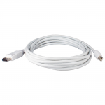 Mini DisplayPort Male to DisplayPort Male Cable - DisplayPort for Monitor Notebook Audio/Video Device - 9.84 ft - 1 x Mini DisplayPort Male Digital Audio/Video - 1 x DisplayPort Male Digital Audio/Video