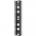NetRunner High Capacity Vertical Cable Manager - Rack cable management panel (vertical) - black - 45U