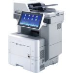 MP 601SPFG - Multifunction printer - B/W - laser - Legal (8.5 in x 14 in) (original) - Legal (media) - up to 62 ppm (copying) - up to 62 ppm (printing) - 600 sheets - 33.6 Kbps - Gigabit LAN USB 2.0 host