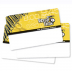 Time Employee Time Cards Seq 1-50 - RF proximity card (pack of 50) - for WaspTime RF200 RFID Time Clock