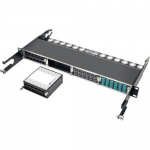 12-PORT SFP+ 10GBE PASS THROUGH CASSETTE 6 QSFP+ TO 4XSFP+CABLES