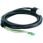 InfraStruXure Whips - Power cable - bare wire to NEMA L6-30 (F) - 21 ft - black - Canada United States - for InfraStruXure PDU