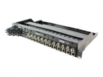 18-Slot Mini Media Converter Chassis - Modular expansion base - AC 100/240 V - 1.5U - rack-mountable