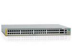 AT x510L-52GT - Switch - L3 - managed - 48 x 10/100/1000 + 4 x 10 Gigabit Ethernet (on Demand) / 1 Gigabit Ethernet SFP+ - rack-mountable - TAA Compliant