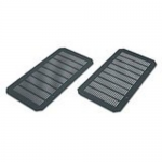 Mounting ventilation plate - wall mountable - black - for NetShelter WX