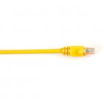 Box CAT5e Value Line Patch Cable Stranded Yellow 25-ft. (7.5-m)  10-Pack - Category 5e for Network Device - 25 ft - 10 Pack - 1 x RJ-45 Male Network - 1 x RJ-45 Male Network - Yellow