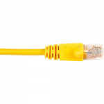 Box CAT6 Value Line Patch Cable Stranded Yellow 1-ft. (0.3-m)  5-Pack - Category 6 for Network Device - 1 ft - 5 Pack - 1 x RJ-45 Male Network - 1 x RJ-45 Male Network - Yellow