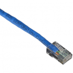 4FT BLUE 25-PACK CAT6 550MHZ PA TCH CABLE UTP CM NO BOOT