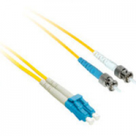 7m LC-ST 9/125 Duplex Single Mode OS2 Fiber Cable - LSZH - Yellow - 23ft - Patch cable - LC single-mode (M) to ST single-mode (M) - 7 m - fiber optic - 9 / 125 micron - OS2 - yellow