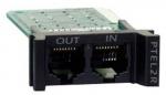 Replaceable Rackmount 1U 2 Line Telco Surge Protection Module - Modem/Fax/DSL