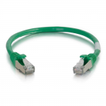 30ft Cat6 Snagless Shielded (STP) Ethernet Network Patch Cable - Green - Patch cable - RJ-45 (M) to RJ-45 (M) - 30 ft - screened shielded twisted pair (SSTP) - CAT 6 - molded snagless stranded - green