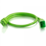 2ft 12AWG Power Cord (IEC320C20 to IEC320C19) - Green - Power cable - IEC 60320 C20 to IEC 60320 C19 - 250 V - 20 A - 2 ft - green