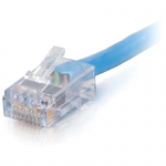 1ft Cat6 Non-Booted Network Patch Cable (Plenum-Rated) - Blue - Category 6 for Network Device - RJ-45 Male - RJ-45 Male - Plenum-Rated - 1ft - Blue