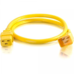 10ft 12AWG Power Cord (IEC320C20 to IEC320C19) - Yellow - Power cable - IEC 60320 C20 to IEC 60320 C19 - 250 V - 20 A - 10 ft - yellow
