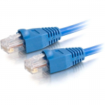 25ft Cat5e Snagless Unshielded (UTP) Network Patch Cable (USA-Made) - Blue - Category 5e for Network Device - RJ-45 Male - RJ-45 Male - USA-Made - 25ft - Blue