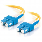 10m SC-SC 9/125 Duplex Single Mode OS2 Fiber Cable - LSZH - Yellow - 33ft - Patch cable - SC single-mode (M) to SC single-mode (M) - 10 m - fiber optic - 9 / 125 micron - OS1 - yellow