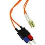 5m LC-SC 50/125 Duplex Multimode OM2 Fiber Cable - Orange - 16ft - Patch cable - LC multi-mode (M) to SC multi-mode (M) - 5 m - fiber optic - 50 / 125 micron - OM2 - orange