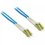 1m LC-LC 62.5/125 OM1 Duplex Multimode PVC Fiber Optic Cable - Blue - Patch cable - LC multi-mode (M) to LC multi-mode (M) - 1 m - fiber optic - 62.5 / 125 micron - OM1 - blue