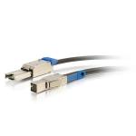 SAS external cable - SAS 12Gbit/s - 4 x Mini SAS HD (SFF-8644) (M) latched to 26 pin 4x Mini SAS (M) latched - 1.6 ft - solid - black